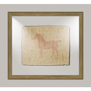Melissa Van Hise Horse II Framed Graphic Art
