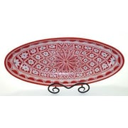 Le Souk Ceramique Nejma Oval Platter