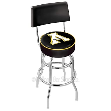 Holland Bar Stool NCAA 25'' Swivel Bar Stool; Appalachian State University