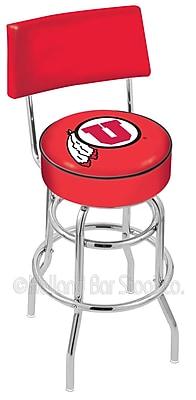 Holland Bar Stool NCAA 25'' Swivel Bar Stool; University of Utah