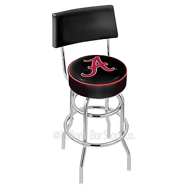 Holland Bar Stool NCAA 25'' Swivel Bar Stool; University of Alabama