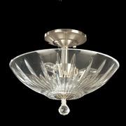 Dale Tiffany Artimus 3-Light Semi Flush Mount