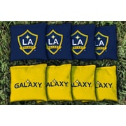 Victory Tailgate MLS Replacement All Weather Cornhole Game Bag Set; Los Angeles Galaxy