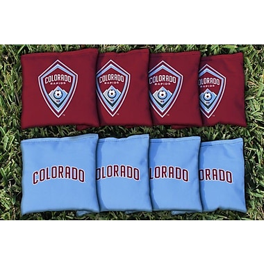 Victory Tailgate MLS Replacement Corn Filled Cornhole Bag Set; Colorado Rapids Game