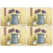 Pimpernel Caf  de Fleurs Placemat (Set of 4)