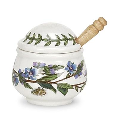Portmeirion Botanic Garden Speedwell Condiment Pot w/ Spoon