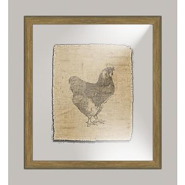 Melissa Van Hise Rooster I Framed Graphic Art