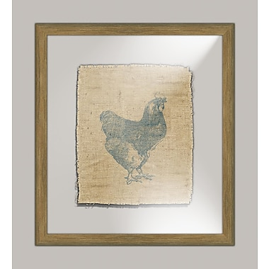 Melissa Van Hise Rooster I Framed Graphic Art