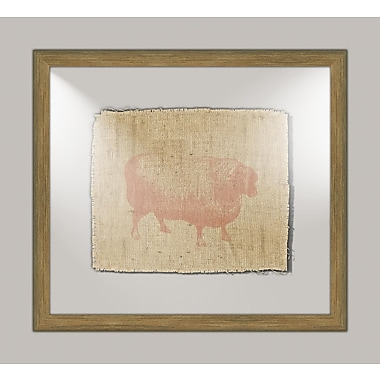 Melissa Van Hise Sheep I Framed Graphic Art