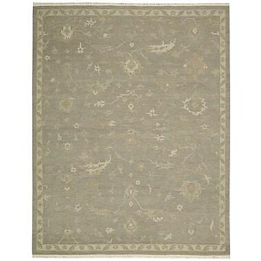 Nourison Nourmak Encore Hand-Woven Taupe Area Rug; 3'9'' x 5'9''