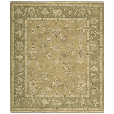 Nourison Nourmak Encore Hand-Woven Sand Area Rug; 8'6'' x 11'6''