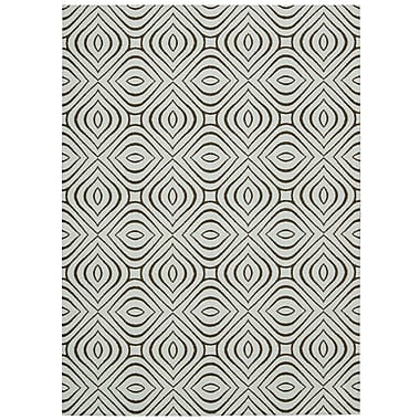 Nourison Enhance Gray Area Rug; 8' x 10'
