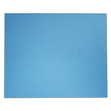 Dacasso Dacasso Faux Leather Desk Mat; Sky Blue