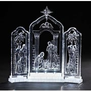 Roman, Inc. LED Lighted Nativity Triptych Figurine
