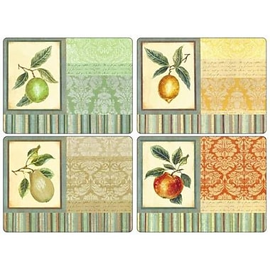 Pimpernel Couture Fruits Placemat Set (Set of 4)