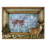 River's Edge Products Deer Picture Frame