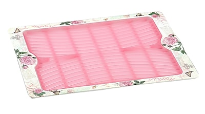 Shall Housewares Rose Draining Board Tray