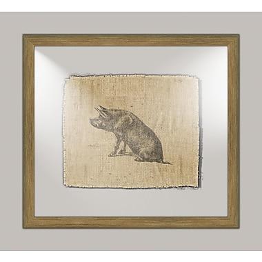 Melissa Van Hise Pig I Framed Graphic Art