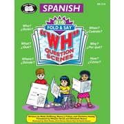 "Super Duper Publications BK319 Spanish 216 Fold & Say ""WH"" Question Scenes - Digital Edition"