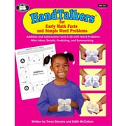 Super Duper Publications BK357 HandTalkers for Early Math Facts and Simple Word Problems