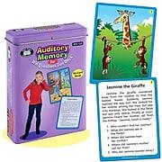 Super Duper Publications FD122 Auditory Memory for WH Questions Fun Deck