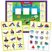 Super Duper Publications SAS144 MagneTalk Yogarilla Exercise & Activity Board Game