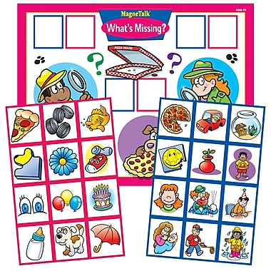 Super Duper Publications SAS99 MagneTalk What's Missing? Board Game