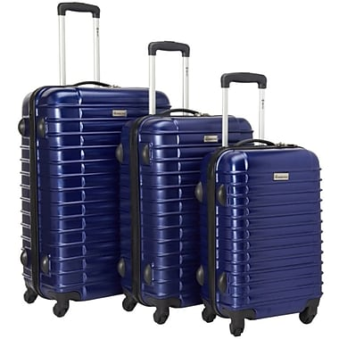 McBRINE Light Weight Polycarbonate 3 Piece Luggage Sets
