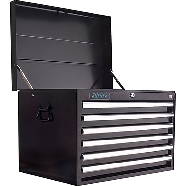 Aurora Tools Tool Box with Cart, 6 Drawers