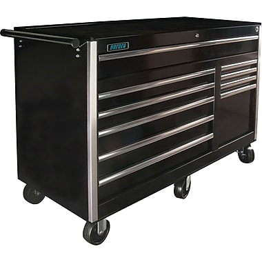 Aurora Tools Tool Box with Cart, 10 Drawers