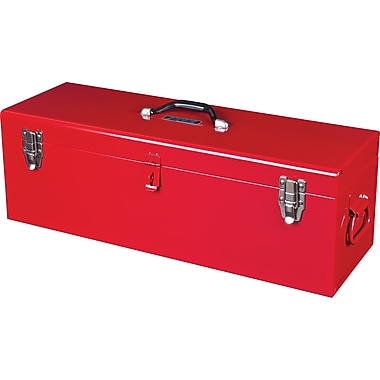 Aurora Tools Portable Tool Box with Metal Tool Tray, 26