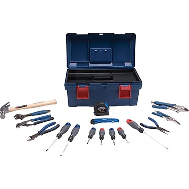 Aurora Tools Basic Tool Set, 17-Piece