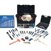 Aurora Tools - Ensemble d'outils d'entrepreneur de 86 pièces