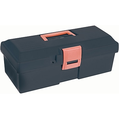 Aurora Tools Heavy-Duty Tool Boxes with Inner Tray, 15
