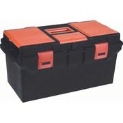 Aurora Tools – Boîtes à outils robustes avec plateau interne, 2 organiseurs, 22 po