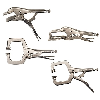 Aurora Tools Welding Clamp Set, 4-Piece