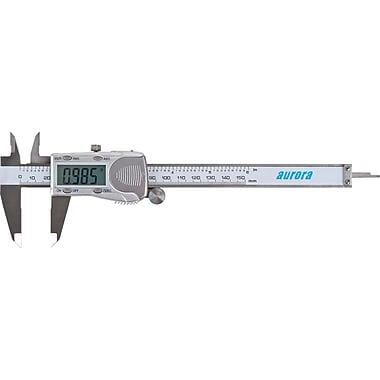 Aurora Tools Electronic Digital Calipers, Stainless Steel, 12