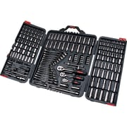 "Aurora Tools Drive S.A.E./Metric Socket and Wrench Set, 210-Piece, 1/4"", 3/8"" and 1/2"""