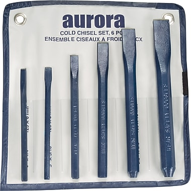 Aurora Tools 6-Piece Cold Chisel Set