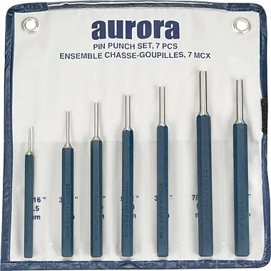 Aurora Tools Pin Punch Set, 7-Piece