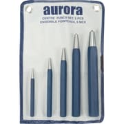 Aurora Tools Center Punch Set, 5-Piece