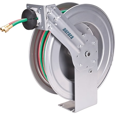Aurora Tools – Dévidoirs de tuyaux de soudage, 1/4 po diam. x 50 pi long.