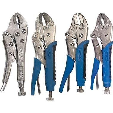 Aurora Tools - Pince étau à mâchoire incurvée avec coupe-fil, ensemble 4 pièces