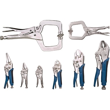 Aurora Tools Locking Plier Set, 8-Piece