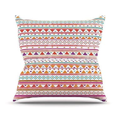 KESS InHouse Native Bandana Outdoor Throw Pillow; 20'' H x 20'' W x 4'' D