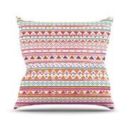KESS InHouse Native Bandana Outdoor Throw Pillow; 18'' H x 18'' W x 3'' D
