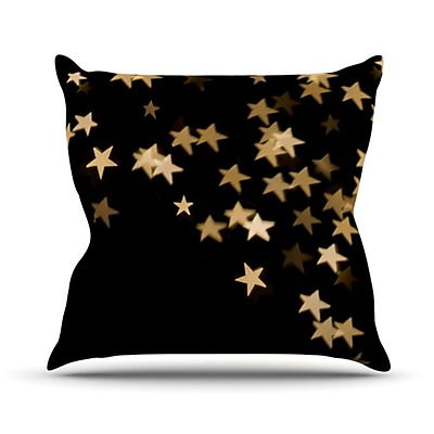 KESS InHouse Twinkle Throw Pillow; 26'' H x 26'' W
