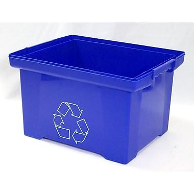 Storex – Bac de recyclage bleu