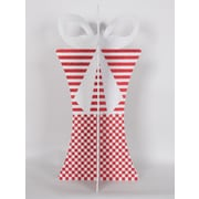 Queens of Christmas 31'' 3D Gift Box Set; Red/White