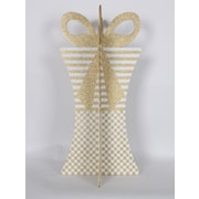 Queens of Christmas 31'' 3D Gift Box Set; Gold/White